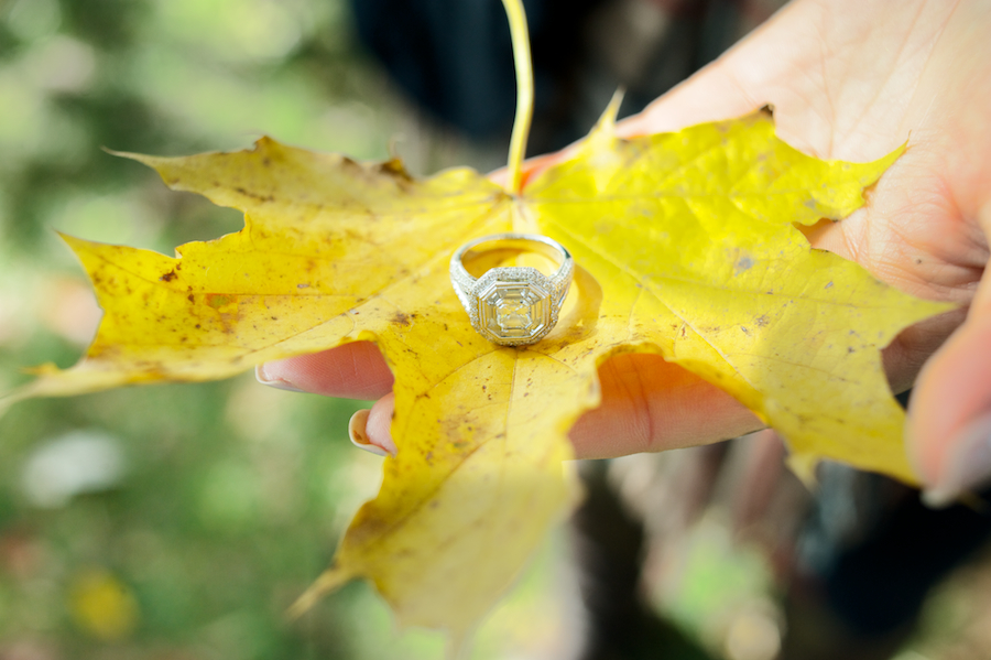 Brittany & Shawn's engagement session at Cairnwood Mansion in Bryn Athyn, PA
